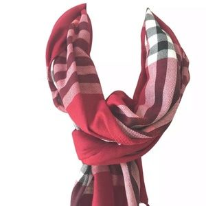 Accessories - Tartan Plaid Blanket Scarf AVAILABLE OTHER COLORS